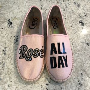 EUC Rose All Day Espadrilles
